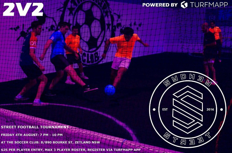2v2 Street football tournament hosted by Sydney Street Crew at The Soccer Club