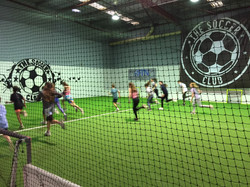 indoor soccer party, venue hire, kids party, sports party, indoor soccer, futsal, bubble soccer, arc