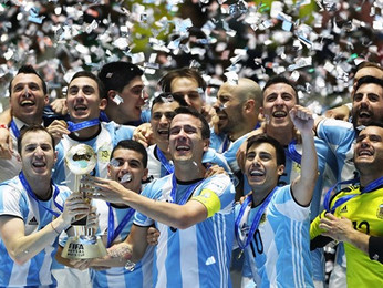 Argentina take out the futsal world cup against Russian in Cali Columbia