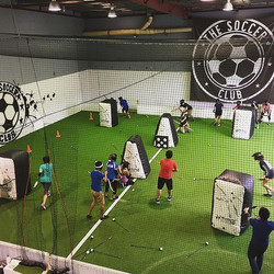 Great session of Archery tag _the.soccer.club brought to you by _arrowzhead