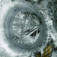 Eisblumenbild