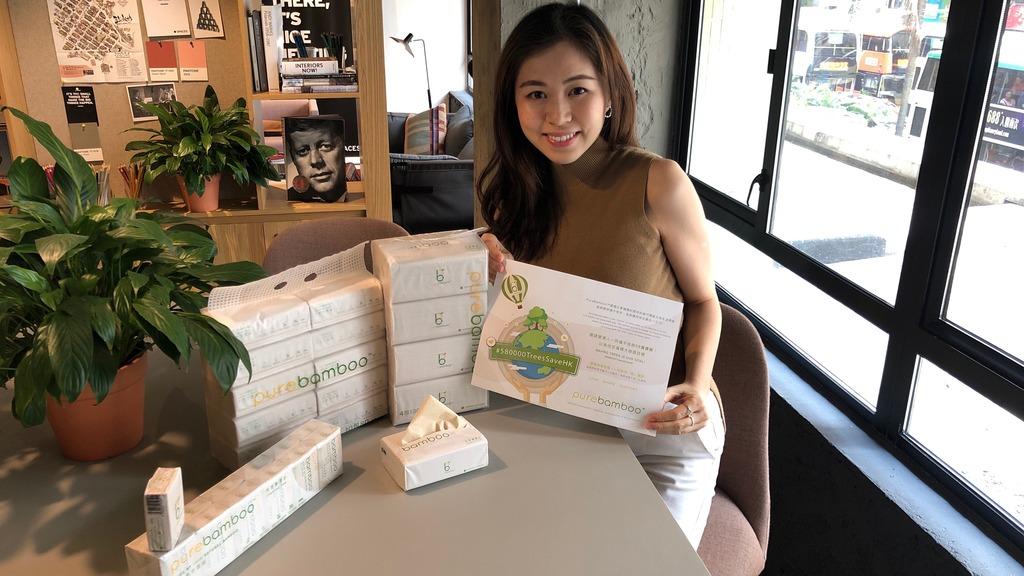 【環保商機】竹紙巾打入香港 拓新市場兼拯救地球