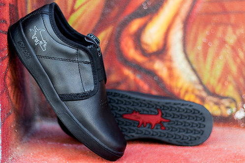 TERRY Slip on Solid All Black