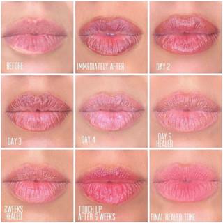 Lip Color Procedure