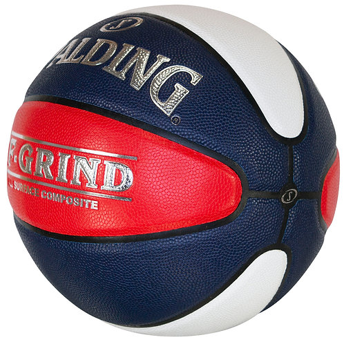 Spalding TF Grind Red/White/Blue Basketball