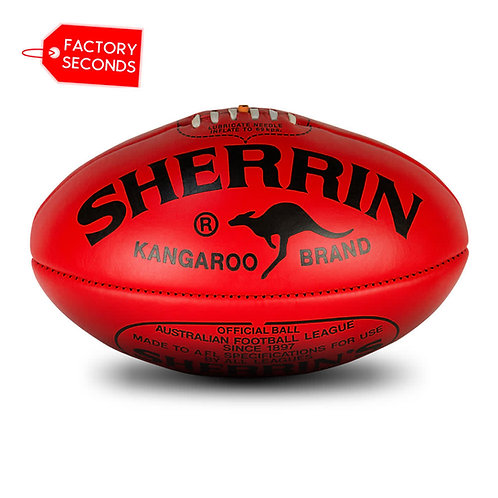 Sherrin KB Seconds - Red Size 5
