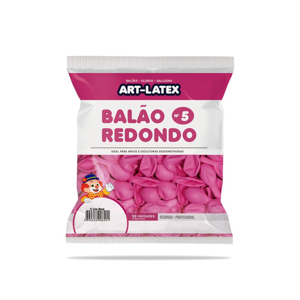 """Balão 5"""" Redondo"""