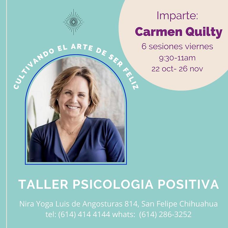 TALLER: Psicología Positiva