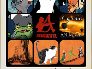 Editorial Adarve publica mis Leyendas de Animalia | Ramírez y el volcán