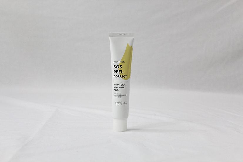 Missha Sos Peel Correct Cream Mask