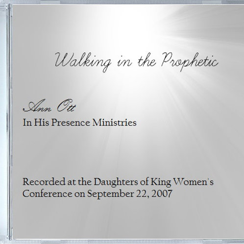 Walking in the Prophetic Audio (CD)
