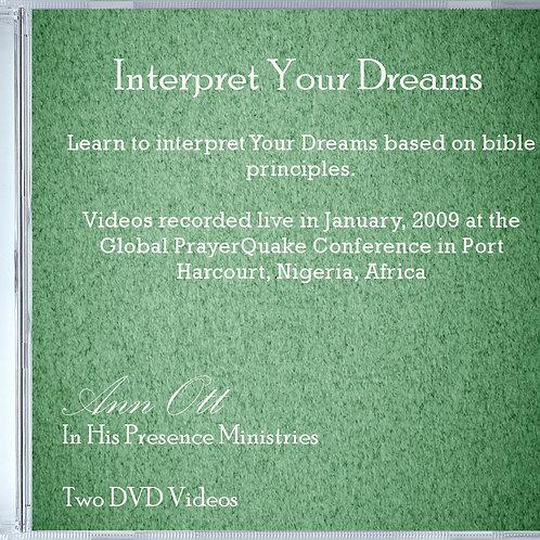Interpret Your Dreams Videos  (2 DVD's)