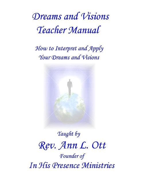 Dreams & Visions Teacher Manual