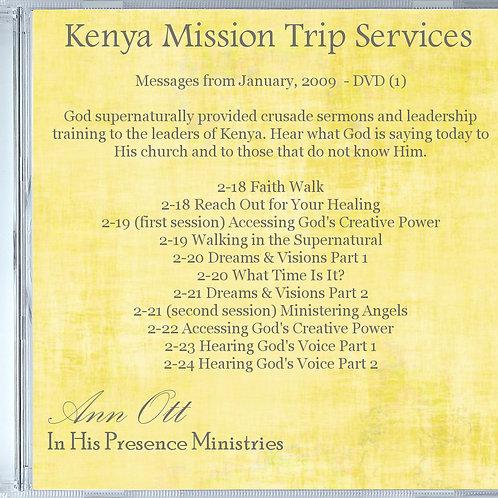 Kenya Mission Trip Audio (MP3)