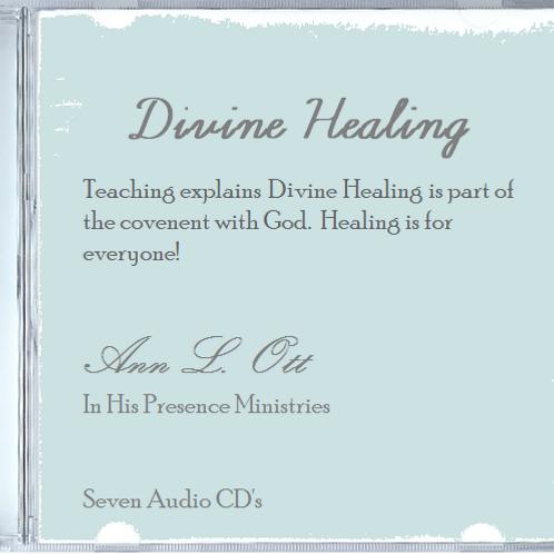 Divine Healing - Seven Audio CD's