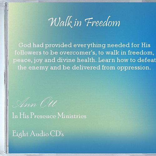 Walk In Freedom - Eight Audio CD's
