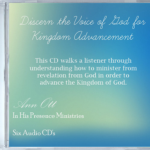 Discern the Voice of God for Kingdom Advancement