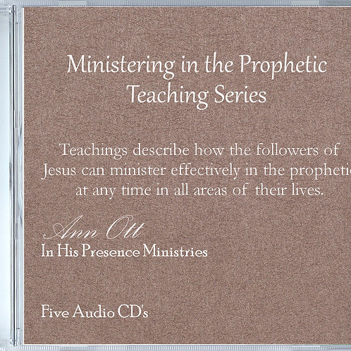 Ministering in the Prophetic Teaching Series