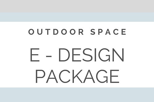 E - DESIGN OUTDOOR SPACE