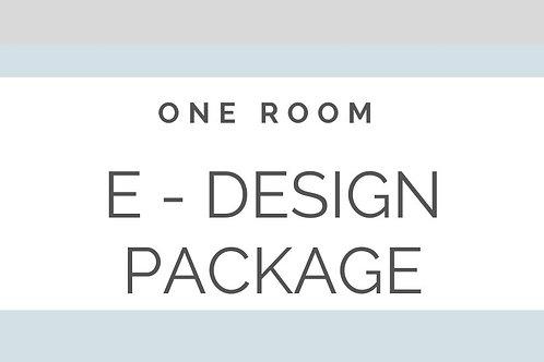 E - DESIGN ONE LARGE ROOM