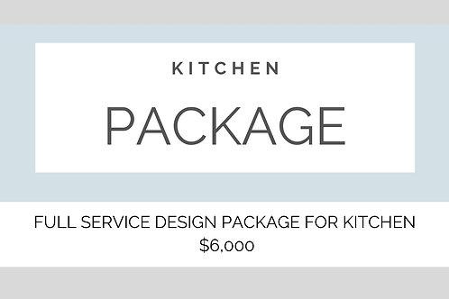 FULL SERVICE KITCHEN DESIGN