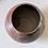 Thumbnail: Burnished barrel fired round pot