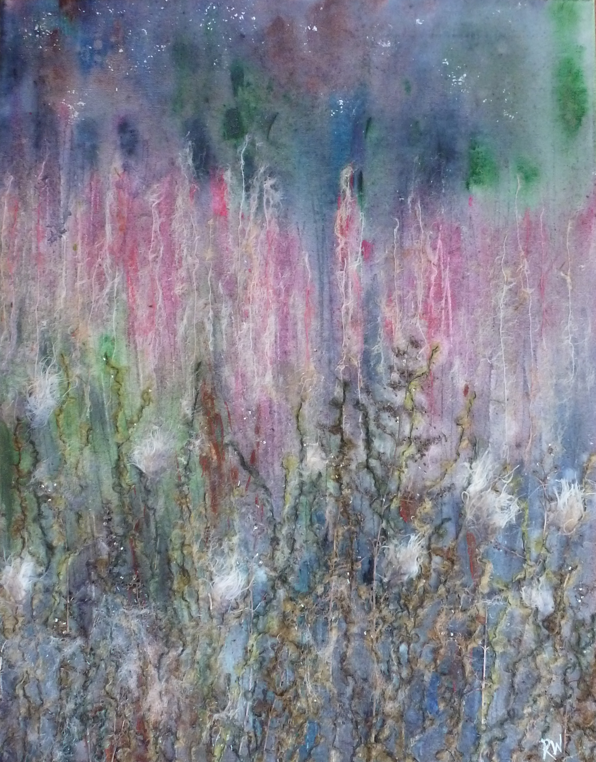 Willowherb Meadow, dusk