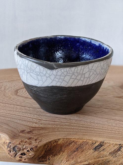 Small raku fired bowl