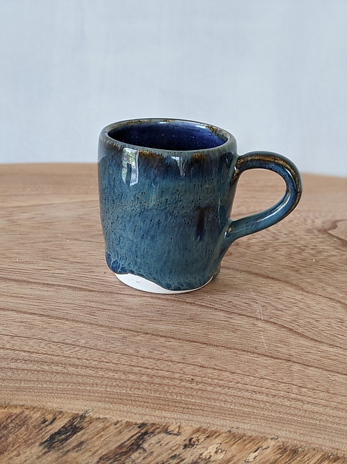 Wheel thrown small espresso cup