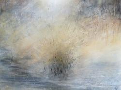 Freezing Mist, Kirkham Weir Acrylics