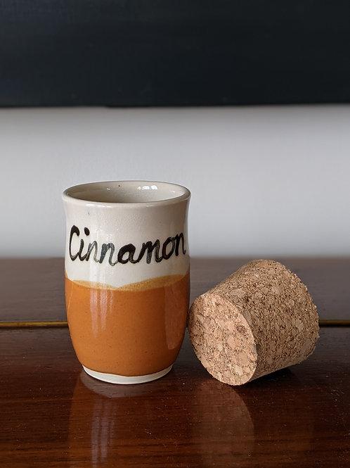 Spice jar - cinnamon