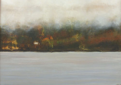 Misty Loch Acrylic