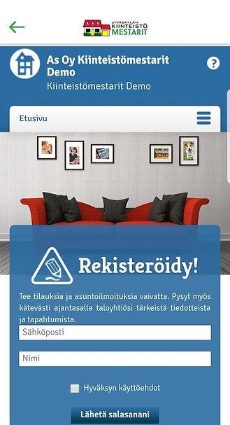 Taloyhtiö.info sovellus