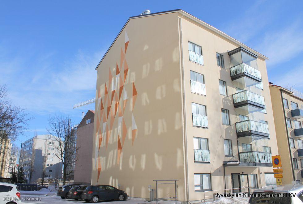 Vuokra-asunto Yksiö Cygnaeuksenkatu 9, 40100 Jyväskylä