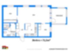 Pohjakuva  71,5 m²  3h + k + s + p