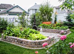 Calgary landscaper planters