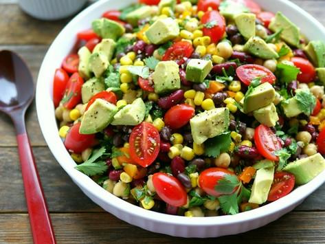 Three Bean & Avocado Salad