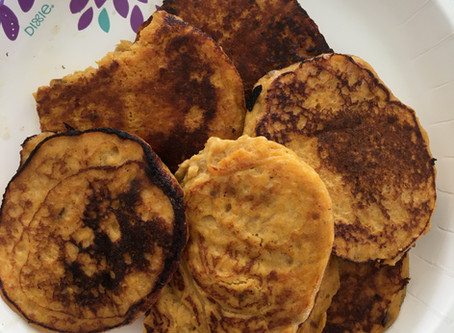 Super Easy Sweet Potato Pancakes