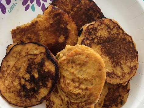 Super Easy Sweet Potato Pancakes