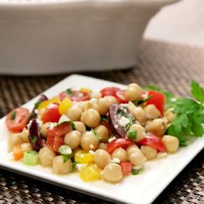Chick Pea Mediterranean Salad