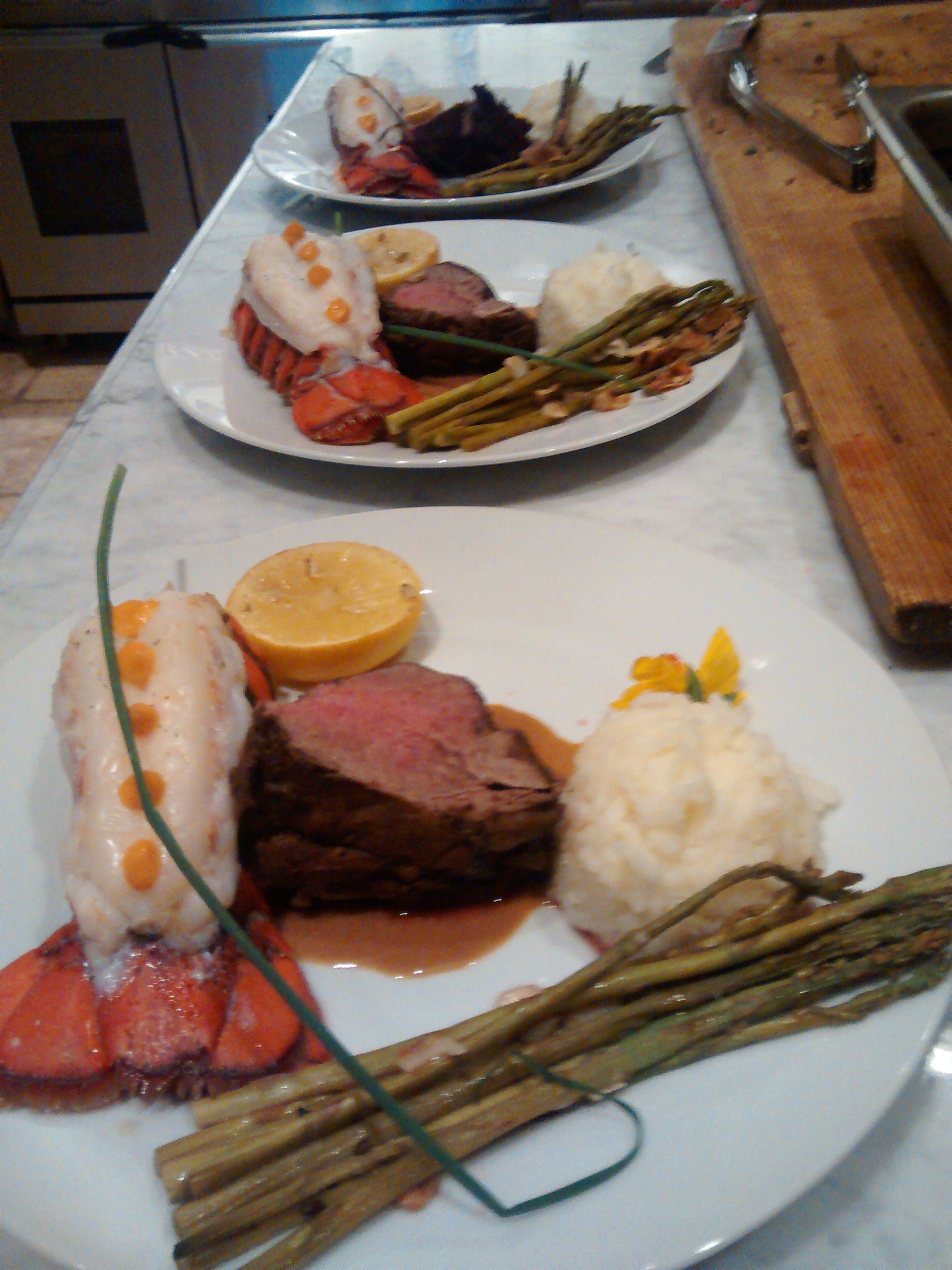 Chef Q Lobster and Filet