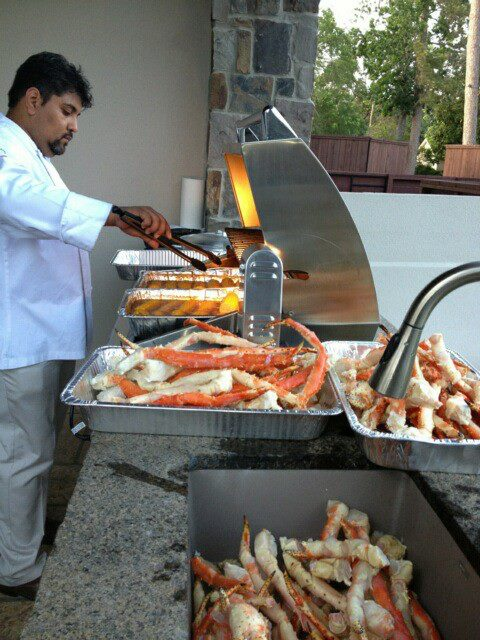 Chef Q Catering outdoors