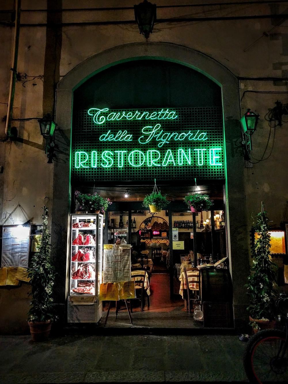 Tavernetta della Signoria Ristorante (Florence Italy)