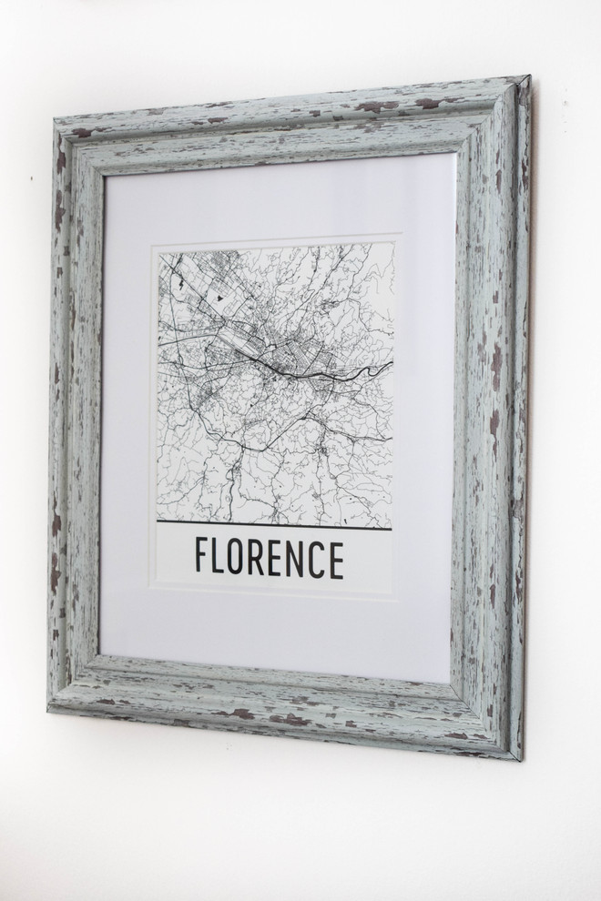 Bringing the Vacation Home with Modern Map Art