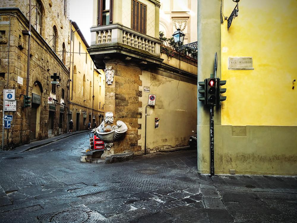 Street Corner (Florence, Italy)