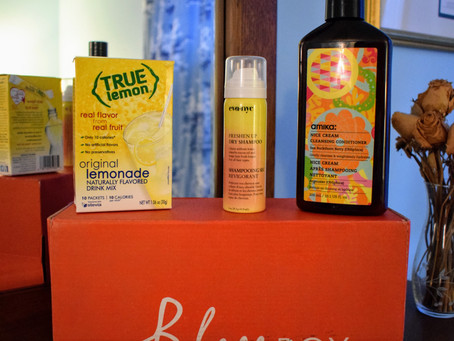 Bless Box Unboxing: All Things Yellow!