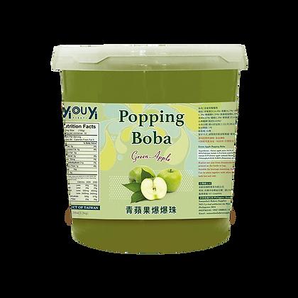 Green Apple Popping Boba