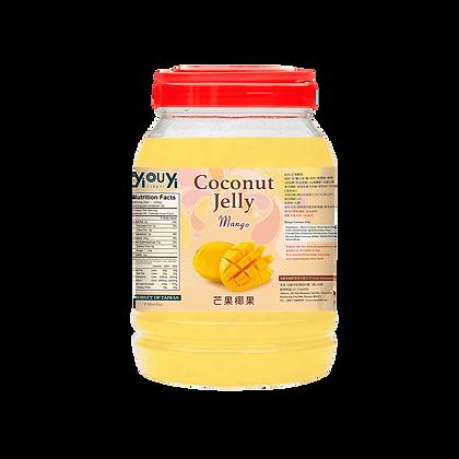 Mango Coconut Jelly