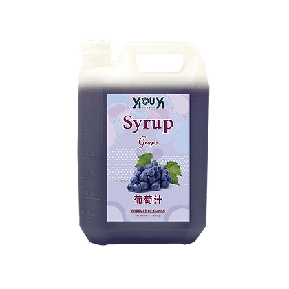 Champagne Grape Syrup