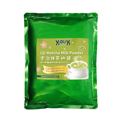 Uji Matcha Milk Powder Mix